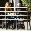 Actor Dominic Purcell cozies up to a mystery girl after enjoying lunch with her at Granville in Studio City, California on January 14, 2015 - 454 x 398