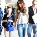 Kate Beckinsale's Holiday Family Flight