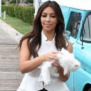 Kim Kardashian: filming their hit reality show in Miami