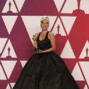 Lady Gaga At The 91st Annual Academy Awards - Press Room - 454 x 681