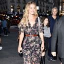 Nina Agdal – Night out in New York