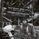 Millie Perkins plants a rose in Israel, named after her - 227 x 340