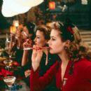 Alicia Silverstone (foreground), Natascha McElhone, Carmen Ejogo and Emily Mortimer in Miramax's Love's Labour's Lost - 2000