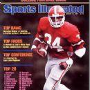 Herschel Walker - Sports Illustrated Magazine Cover [United States] (31 August 1981)