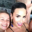 Demi Lovato in Swimsuit – Personal Pics