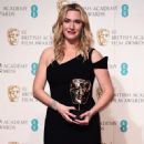 Kate Winslet-February 14, 2016-EE British Academy Film Awards - Winners Room
