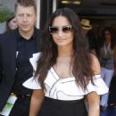 Demi Lovato – Leaves Cannes Lions Festival in Cannes - 454 x 681