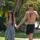 Camila Cabello and Shawn Mendes – Seen on a morning coffee walk in Miami