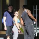 Ariel Winter – Hits the gym with Levi Meaden in LA
