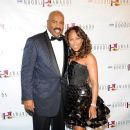 Marjorie Harvey and Steve Harvey - 388 x 600