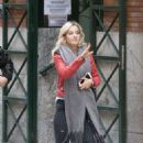 Luisana Lopilato In Tight Jeans Out In Madrid