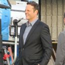 Vince Vaughn is spotted on the set of the hit HBO series 'True Detective' filming in Los Angeles, California on January 30, 2015 - 436 x 600