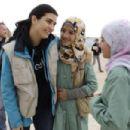 Tuba Büyüküstün visit for Syrian refuges in Jordan