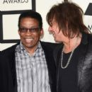 Herbie Hancock and Richie Sambora attend The 57th Annual GRAMMY Awards at the STAPLES Center on February 8, 2015 in Los Angeles, California.