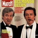 Alain Delon - Paris Match Magazine Cover [France] (February 1982)