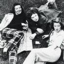 Katharine Hepburn with sisters Marion and Margaret. 1939