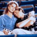 Michael J. Fox and Nancy Travis