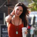 Megan Fox With Brian Austin Green: Into BOA Steakhouse