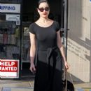 Dita Von Teese leaving a nail salon in Hollywood, CA on January 20, 2012