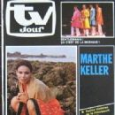 Marthe Keller - TV Jour Magazine Cover [Belgium] (23 April 1980)