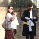 Amelia Warner and Jamie Dornan