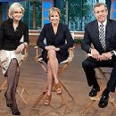 Diane Sawyer, Katie Couric & Brian Williams