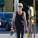 Charlize Theron – Outside SoulCycle in Los Angeles