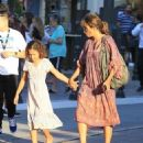 Halle Berry takes her daughter Nahla Aubry to the Grove in Los Angeles, California on June 17, 2016 - 454 x 560