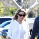 LeAnn Rimes Going to the Church in Agoura Hills