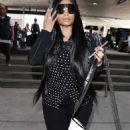 Nicki Minaj at LAX airport in Los Angeles - 454 x 717