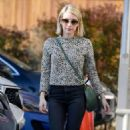 Emma Roberts at a film company office in West Hollywood - 454 x 747