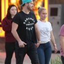 Hayden Panettiere – With Brian Hickerson Seen Out In St. Augustine