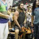 Jason Momoa- August 19, 2016- Jason Momoa Enjoys Extreme Sports In Barcelona