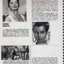 Sophia Loren - Sovetskii Ekran Magazine Pictorial [Soviet Union] (14 December 1962) - 454 x 812