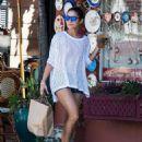 Vanessa Hudgens At Furniture Store In Studio City