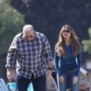 Sofia Vergara – Filming 'Modern Family' set in Los Angeles