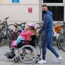 Katie Price – Is seen at the Chelsea and Westminster hospital - 454 x 389