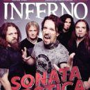 Henrik Klingenberg, Elias Viljanen, Tommy Portimo, Tony Kakko - Inferno Magazine Cover [Finland] (February 2014)