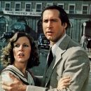 Chevy Chase and Carrie Fisher