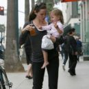Jennifer Garner & Seraphina Out & About In Santa Monica