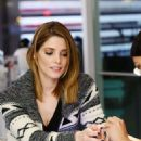 Ashley Greene Manicure At The Painted Nail In La