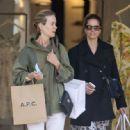Amanda Peet and Sarah Paulson – Shopping at Zimmermann in West Hollywood - 454 x 446