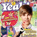 Justin Bieber, Miley Cyrus, Bella Thorne, Ashley Tisdale, Selena Gomez, Ariana Grande, Cody Simpson, Emma Watson, Taylor Lautner - Yeah Magazine Cover [Germany] (January 2012)