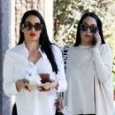Nikki and Brie Bella – Running errands on Valentine's Day - 454 x 681