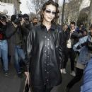 Bella Hadid – Leaving the Miu Miu show at 2020 Paris Fashion Week Womenswear F-W 20-21
