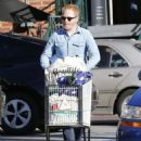 Tyler Ferguson does some solo grocery shopping at Whole Foods in West Hollywood, Calfiornia on January 5, 2015 - 454 x 567