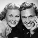 William Holden and Joan Caulfield