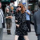 Emma Stone – Arriving at The Late Show with Stephen Colbert in NYC