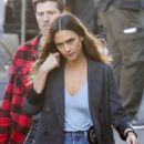 Jessica Alba – On the set of 'L.A.'s Finest' in Los Angeles