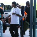 Kylie Jenner and Tyga spotted departing on a flight in Costa Rica on January 30, 2017 - 454 x 568